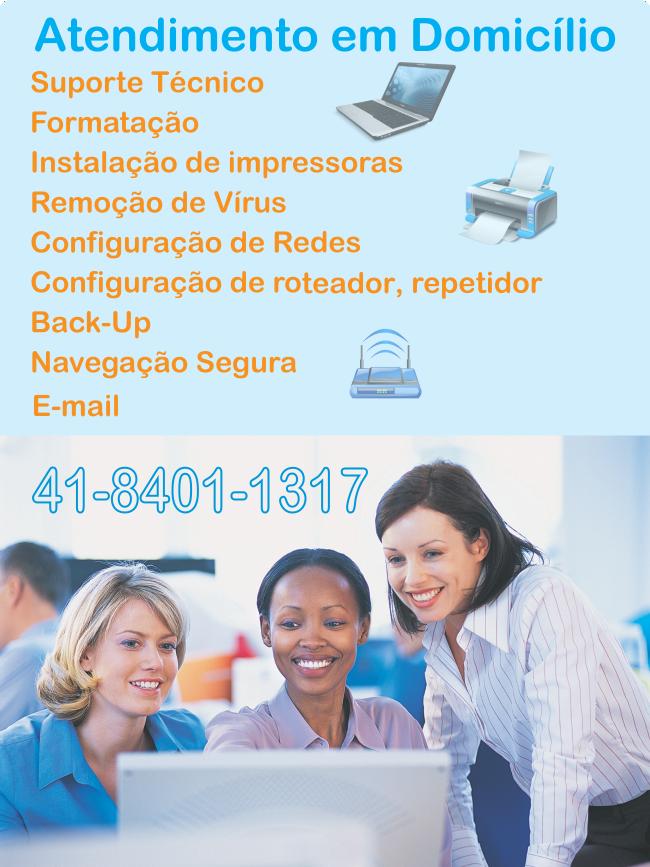 Suporte tecnico informatica Curitiba